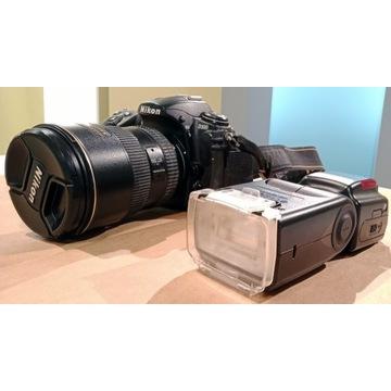 Nikon D300 + Obiektyw AF-S DX Zoom-Nikkor 17-55mm