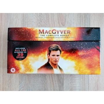 MagGyver (kompletna kolekcja, 39 DVD)