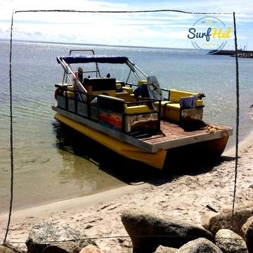 Katamaran Crest - Party Boat 70KM na 12 osób