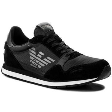 EMPORIO ARMANI Sneakersy buty męskie 42 NOWOŚĆ