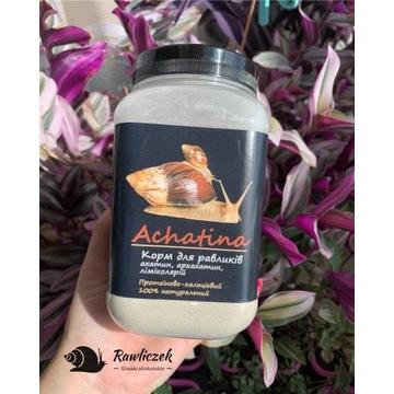 Posypka dla ślimaków afrykańskich, achatina