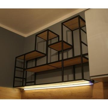 Regał / Loft Industrial / Twin Tower