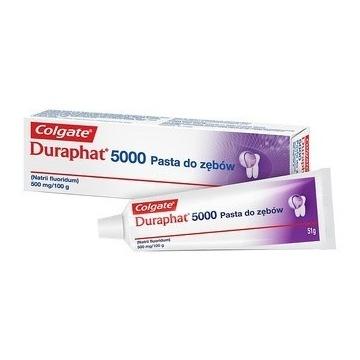 Pasta przeciwpróchnicza lek Colgate Duraphat 5000