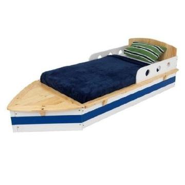 Łóżko dziecięce statek łódka 160x80