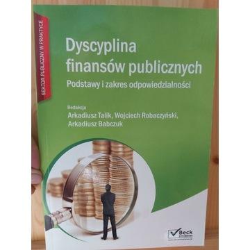 Dyscyplina finansów publicznych podstawy.