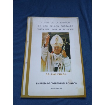 3 Albumy Jan Paweł II  Ekwador