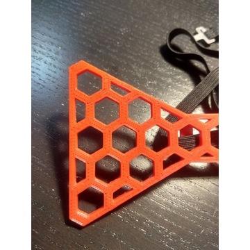 Muszka wykonana techniką druku 3D
