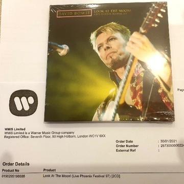 David Bowie - Phoenix 97. 2CD NOWY. LIMIT 6000 SZT