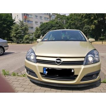 Opel astra h 2004 złota