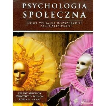 Psychologia społeczna Aronson  2012 UNIKAT