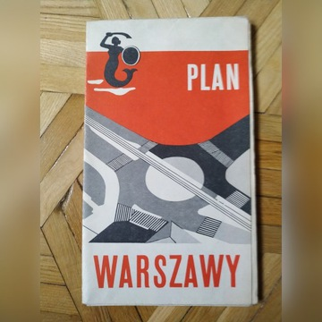 PLAN WARSZAWY 1972