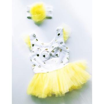 Śliczna niemowlęca sukieneczka letnia R.68 (6-9M)