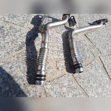 Przewody aluminiowe oleju turbo MB W205 C63/63S