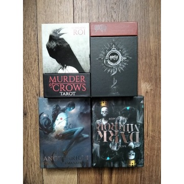 TAROT karty oracle Angelarium Murder of Crows x4