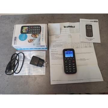 telefon max com MM428BB dla seniora SOS