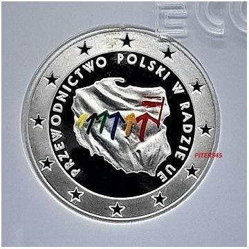 10zł + BLIS. 2zł 2011r. PRZEW.POLSKI W UE GCN PR70