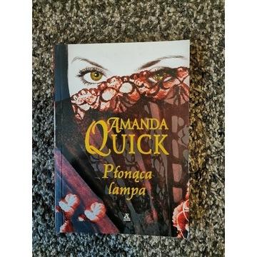Płonąca lampa Amanda Quick