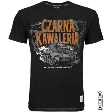 T-shirt EPIC HERO Czarna Kawaleria!