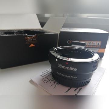 Adapter bagnetowy Commlite Sony NEX (E)/Canon
