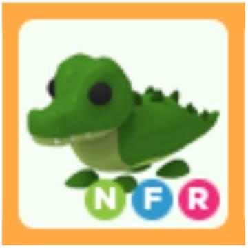 Roblox Adopt Me Crocodile NFR neon FR