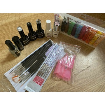 Sprzedam lakiery hybrydowe+farby akrylowe+baza+top