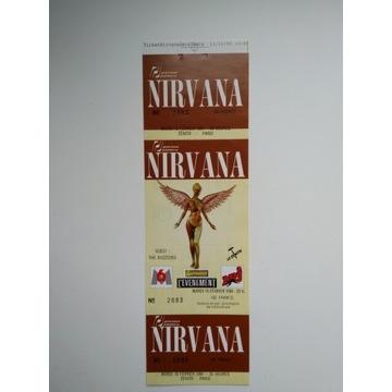 Nirvana - In Utero BILET z Ostatniej Trasy 1994