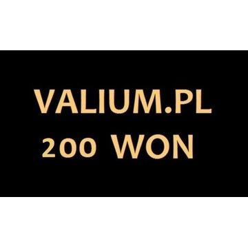 Valium.pl Valium YANG 200 WON, Wony, Tanio Okazja