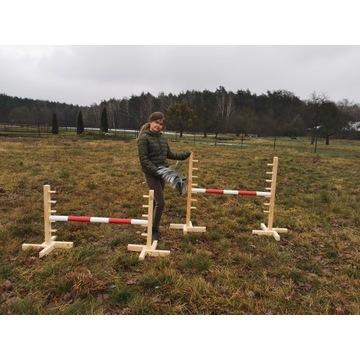ZESTAW Bezpieczna przeszkoda HOBBY Horse 60 cm