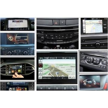 Aktualizacje nawigacji Peugeot / Citroen