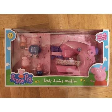 Świnka Peppa figurki maszyna do szycia zestaw