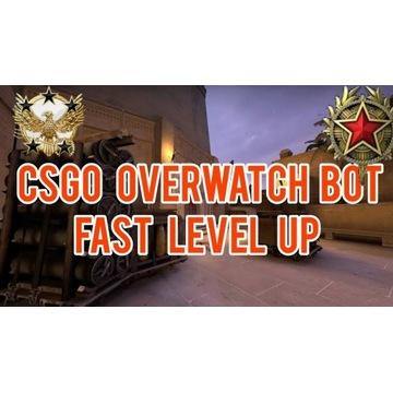 Overwatch BOT CSGO | FAST LVL UP | Trust Factor