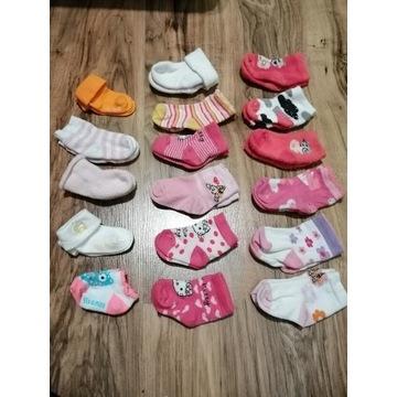 Skarpetki niemowlęce różne kolory