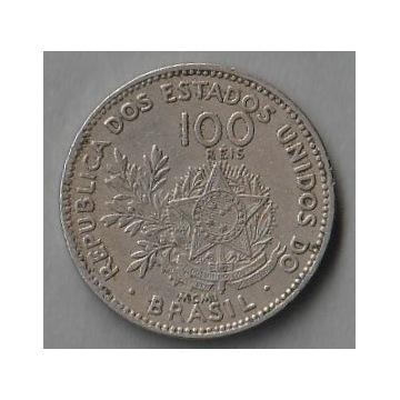 Brazylia 100 reis 1901