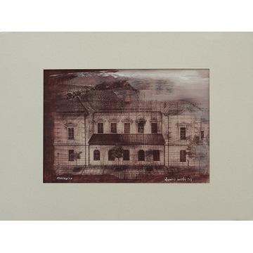 Krzeszowice, pałac Vauxhall - guma chromianowa