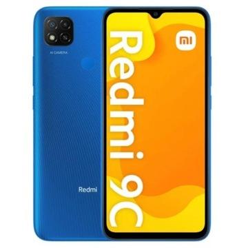 """XIAOMI Redmi 9C 2/32GB 6.53"""" Niebieski GW"""