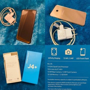 Samsung galaxy J4+ 32Mb