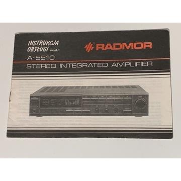 Radmor A-5510 instrukcja obsługi oryginalna