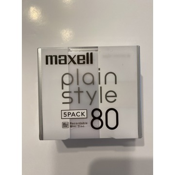Mini Dyski Maxell -plain style 80  Japan