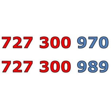 727 300 9xx  ŁATWY ZŁOTY NUMER STARTER x 3
