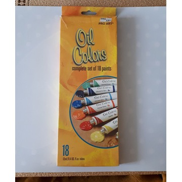 Farby olejne w tubkach