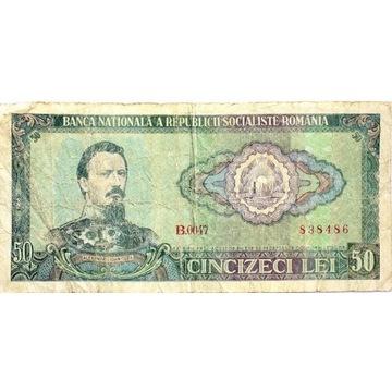 BANKNOT RUMUNIA 50 LEI   B21