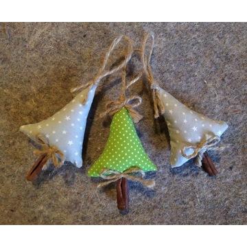 Ozdoby świąteczne - tekstylne (komplet)