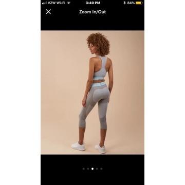 GYMSHARK legginsy FLEX CROPPED nowe rozmiar XS