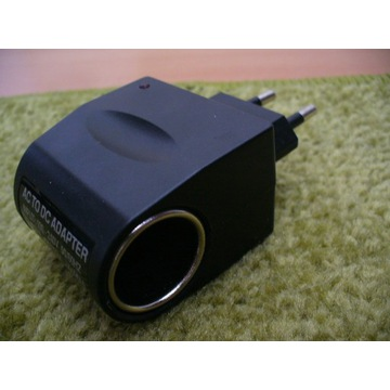 Adapter z gniazdka na gniazdo 12v (samochodowe)