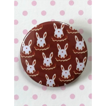 Przypinka Króliki -Circus rabbits-