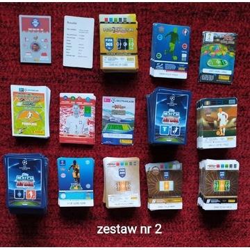 Karty piłkarskie Panini, Topps. 1040 sztuk