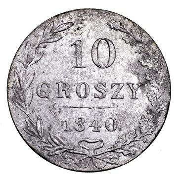 Królestwo Polskie, 10 groszy 1840