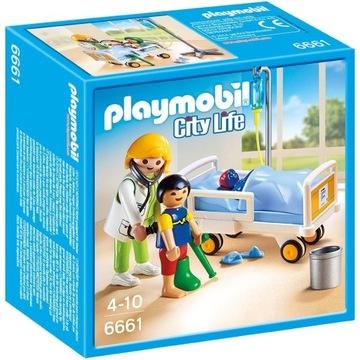Playmobil City Life 6661 Sala chorych KLEKS W-wa