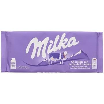 tabliczka czekolady Milka Mleko alpejskie 125 gram