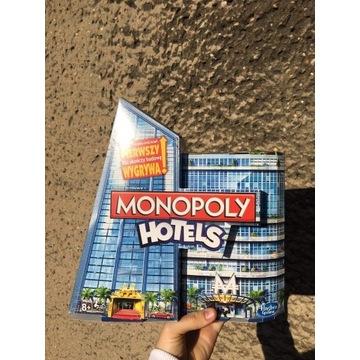 Gra planszowa MONOPOLY HOTELS